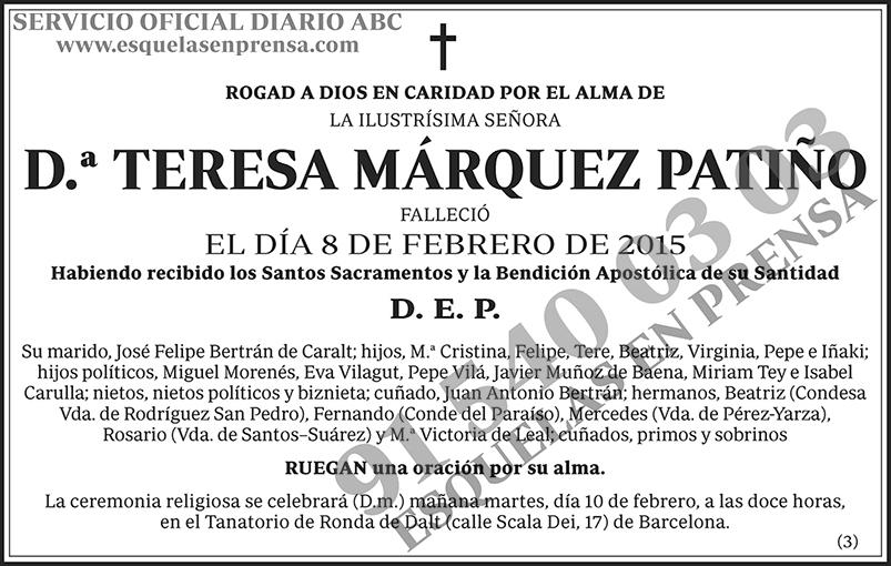 Teresa Márquez Patiño